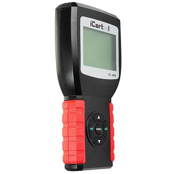 Тестер аккумуляторных батарей (АКБ) 12/24V iCartool IC-400 купить