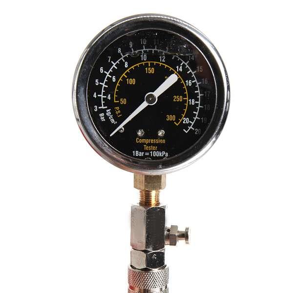 Стрелочный компрессометр бензиновый Car-Tool CT-1174 купить в Москва