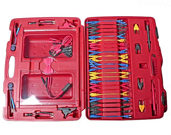 Набор коннекторов для мультиметров многофункциональный (в кейсе) 90 предметов. JTC-1438 купить