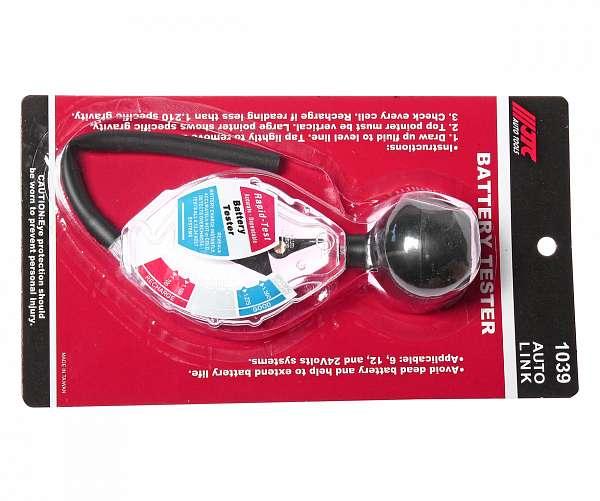 Тестер плотности электролита (ареометр) JTC /1/100. JTC-1039 купить