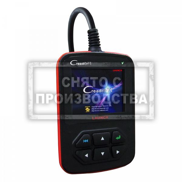 Launch Creader VI - Портативный автосканер фото