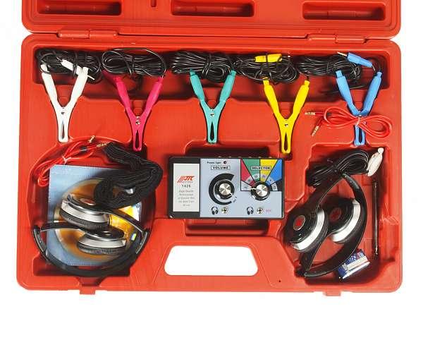 Стетоскоп электронный (наушники, тестер, зажимы, блок управления, магнитный датчик в комплекте). JTC-1426 купить