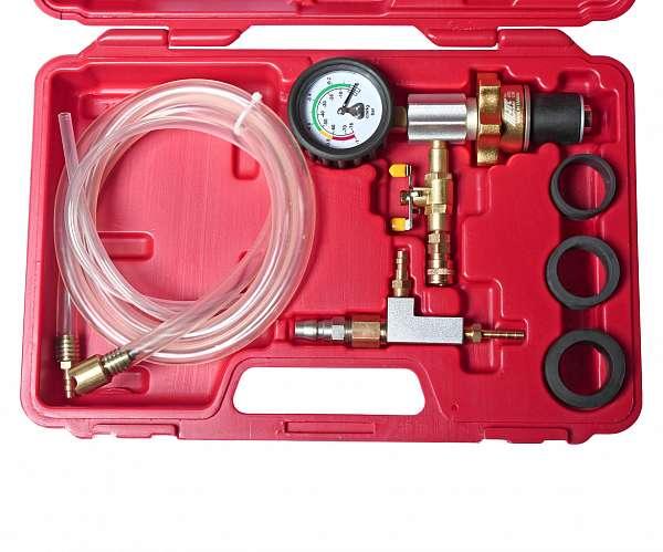 Набор для вакуумной откачки воздуха и замены жидкости в системе охлаждения (в кейсе). JTC-1536 купить