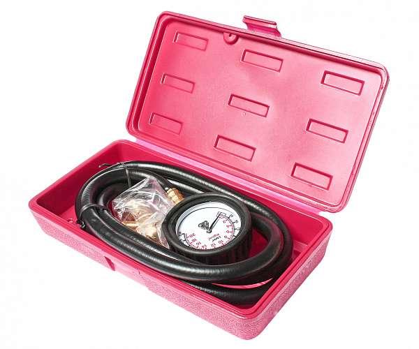 Тестер давления масла с набором адаптеров (в кейсе). JTC-1256 фото
