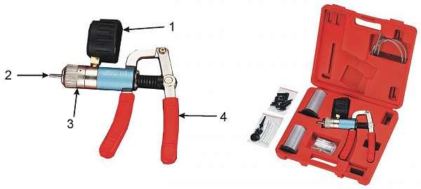 Набор для проверки давления и герметичности (в кейсе). JTC-1245