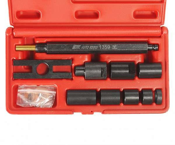 Набор адаптеров для компрессометра JTC-1364 (11 предметов). JTC-1359 купить