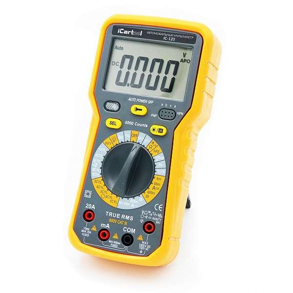 Автомобильный мультиметр IC-120