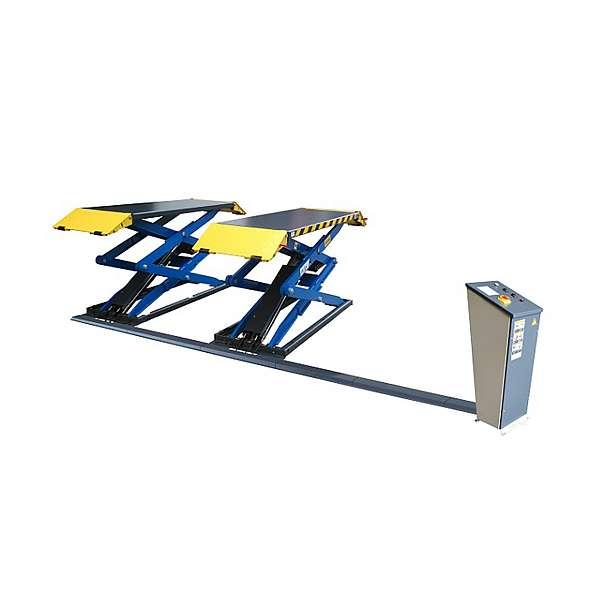 Подъемник ножничный электрогидравлический PEAK SX07 г/п 3 тонны, напольный фото