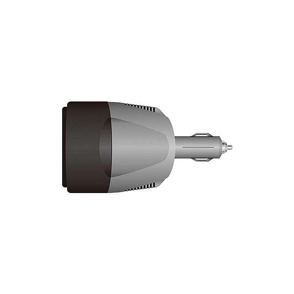 Инвертор 220 V 60W от прикуривателя фото