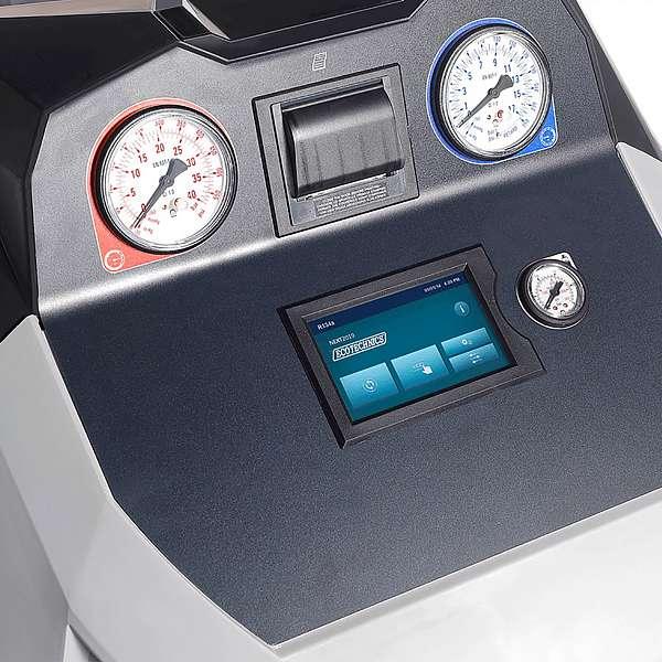 Автоматическая установка для обслуживания автомобильных кондиционеров Ecotechnics Eck Next  купить в Москва