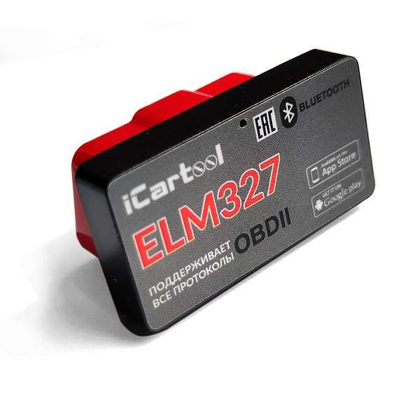 Адаптер диагностический ELM327 BT Android / IOS iCartool IC-327 фото
