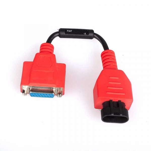 Диагностический разъем  Fiat 3 pin для MaxiDAS DS708 фото