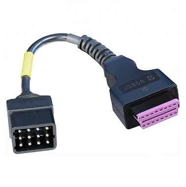 Диагностический кабель Renault легк. 12 pin Bosch 1684465582 фото