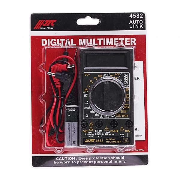 Мультиметр цифровой (старый код JTC-1442). JTC-4582 фото