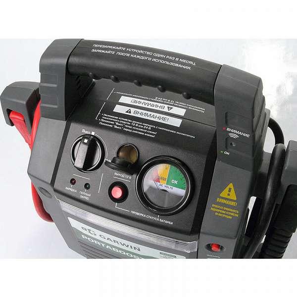 Пусковое устройство PortaBoost 3000 12/24 В, 1200/600 A GARWIN GE-PB3000