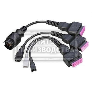 Bosch Комплект кабелей к легкому комм. транспорту для KTS Truck 1687001947 фото