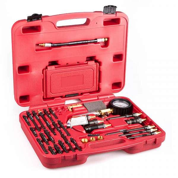 Компрессометр для бензиновых и дизельных двигателей Car-Tool CT-145i фото