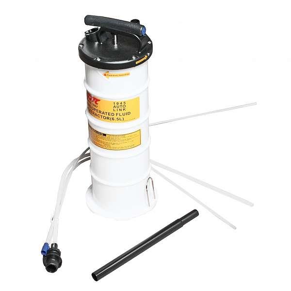 Приспособление для откачки технических жидкостей с ручным приводом, емкость 6.5л. JTC-1045 фото