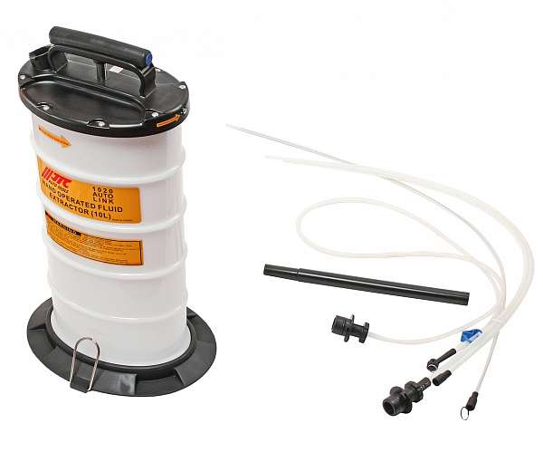 Приспособление для откачки технических жидкостей с ручным приводом, емкость 10л. JTC-1020 фото