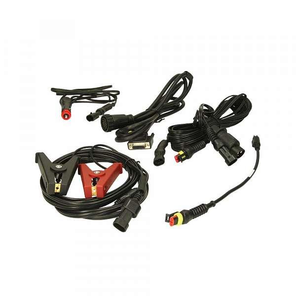 TEXA 3905031 Комплект питающих кабелей и адаптеры для грузовых авто, сельхоз и спецтехники фото