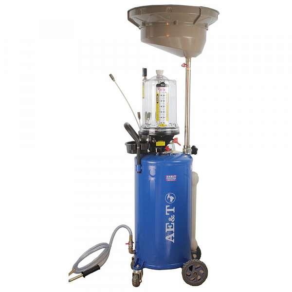 Установка для замены масла и антифриза AE&T HC-2197, 76л. купить