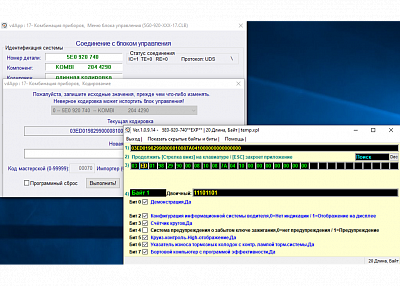 Диагностический сканер Вася диагност 21.4.0 (лицензия) - Пример кодирования (1)