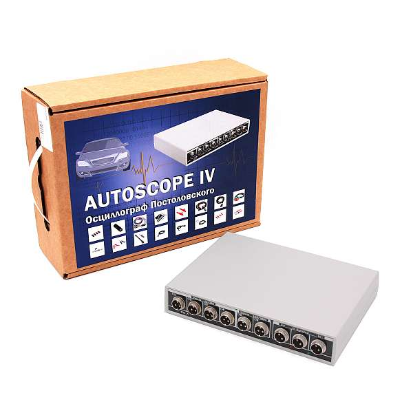 USB Autoscope IV - USB Осциллограф Постоловского (полная комплектация) фото