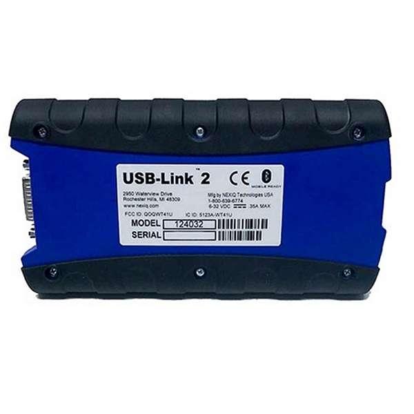 Nexiq 124032 USB-Link 2 Bluetooth — автосканер для диагностики американских грузовых автомобилей купить в Москва