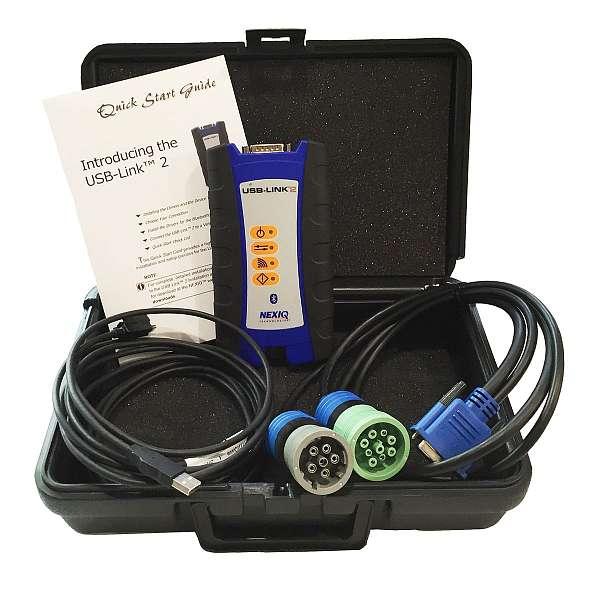 Nexiq 124032 USB-Link 2 Bluetooth — автосканер для диагностики американских грузовых автомобилей купить