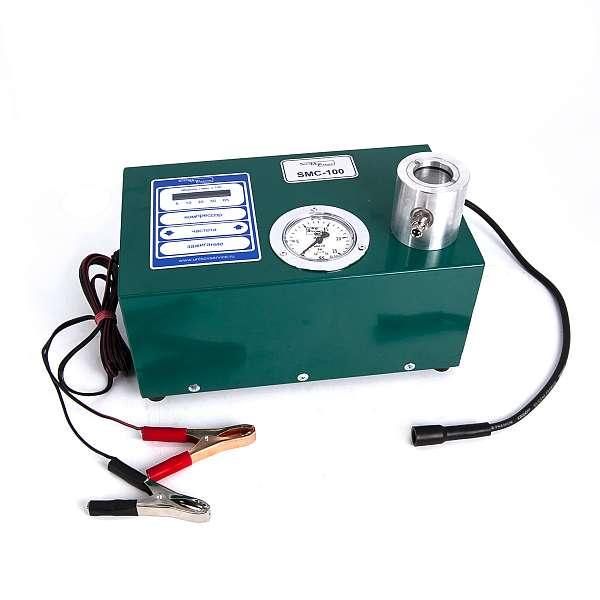 Стенд для диагностики свечей зажигания ДВС SMC-100E ( 12V) фото