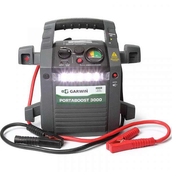 Пусковое устройство PortaBoost 3000 12/24 В, 1200/600 A GARWIN GE-PB3000 купить