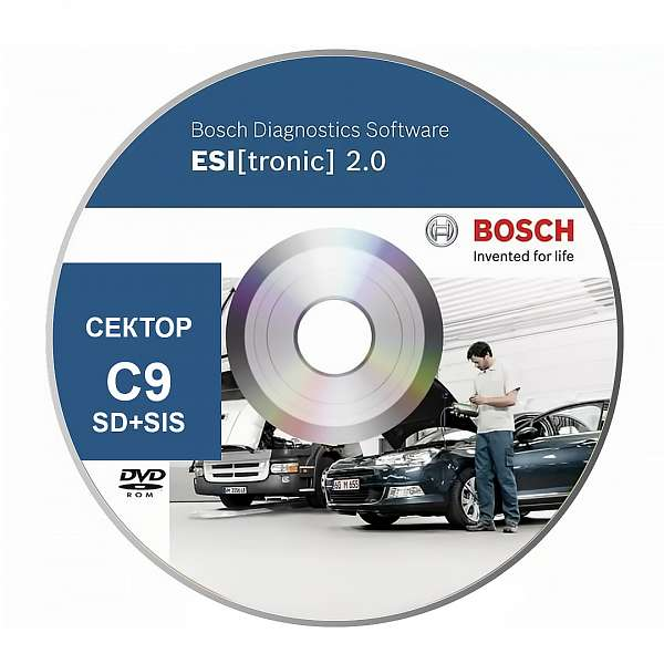 Bosch Esi Tronic сектор C9 основная подписка фото