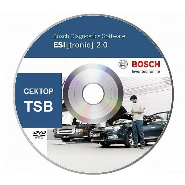 Bosch Esi Tronic подписка сектор TSB фото