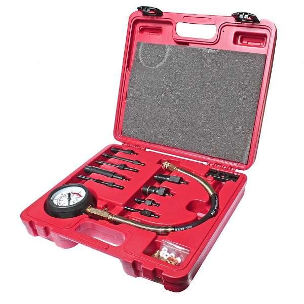 Компрессометр для дизельных двигателей с набором адаптеров. JTC-1364 фото