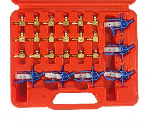 Адаптеры для измерителя расхода топлива JTC-4776 (двиг. с системой впрыска COMMON RAIL) 24шт. JTC-4777 купить