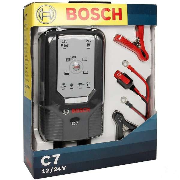 BOSCH C7 - Зарядное устройство для АКБ 12/24В, 018999907M