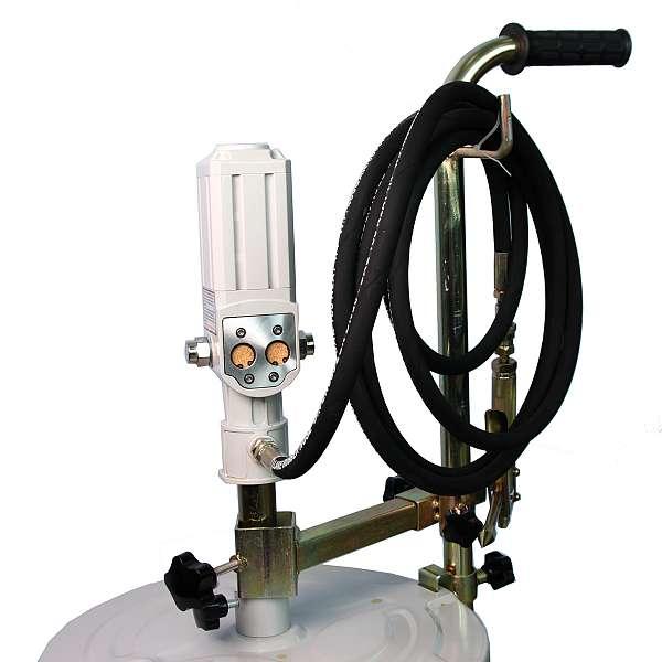 Солидолонагнетатель пневматический для бочек 40-60 кг. купить в Москва