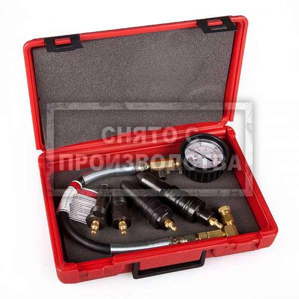 Стрелочный компрессометр для дизелей Car-Tool CT-070B фото