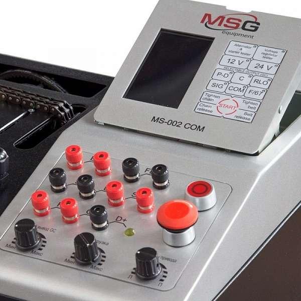Cтенд для проверки стартеров, генераторов и реле регуляторов MSG MS002 COM купить в Москва