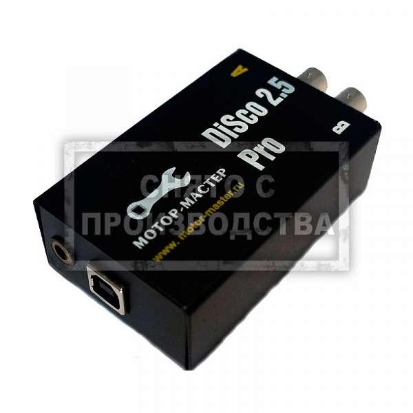 USB осциллограф DiSco 2.5 Pro фото