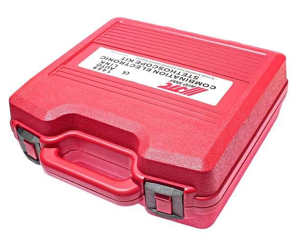 Стетоскоп электронный (наушники, тестер, зажимы, блок управления в комплекте). JTC-1449 купить в Москва