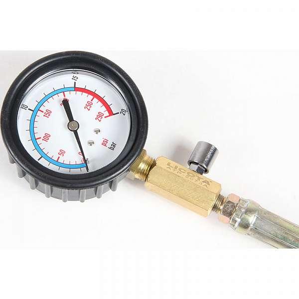 Компрессометр профессиональный бензиновый, набор со сменными насадками Licota ATP-2073A купить