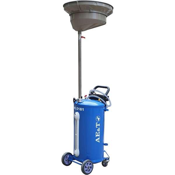 Установка для замены масла и антифриза AE&T HC-2181, 76л. фото