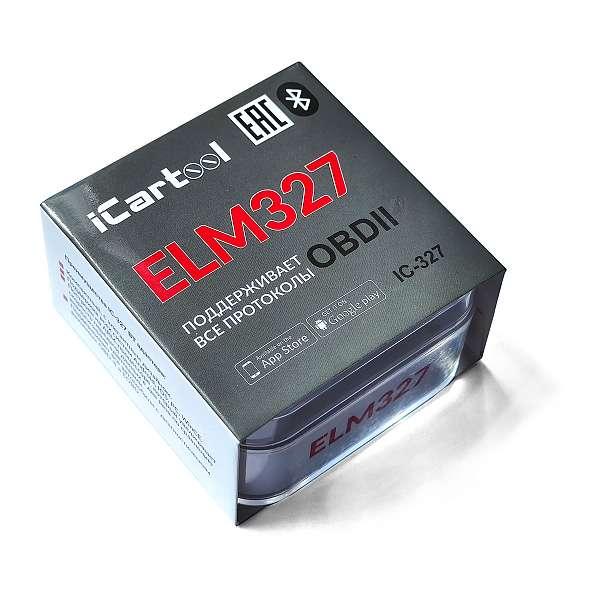 Адаптер диагностический ELM327 BT Android / IOS iCartool IC-327 купить