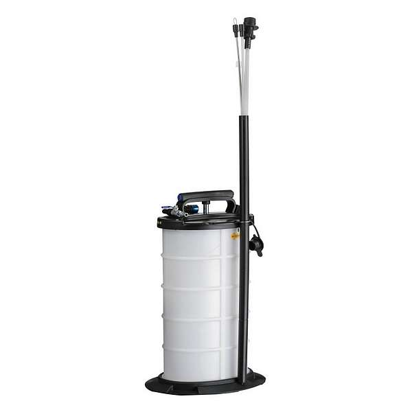 Устройство для откачки масла, 9,5 л, пневматический/ручной привод МАСТАК 130-00095 фото