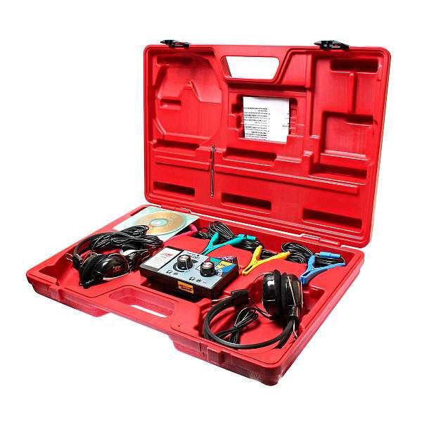 Стетоскоп электронный (наушники, тестер, зажимы, блок управления, магнитный датчик в комплекте). JTC-1426 фото