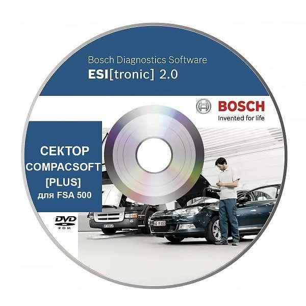 Bosch Esi Tronic подписка сектор CompacSoft [plus] для FSA 500 фото