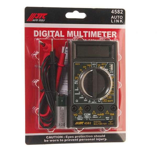 Мультиметр цифровой (старый код JTC-1442). JTC-4582 купить