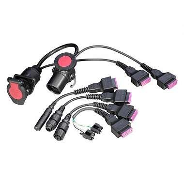 Bosch Комплект кабелей к прицепам для   KTS Truck 1687001945 фото