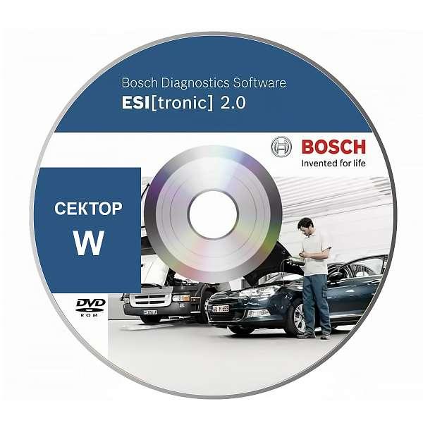Bosch Esi Tronic подписка сектор W фото